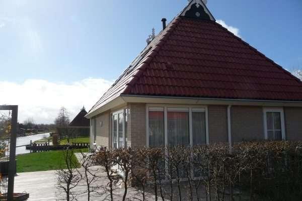 Vakantiehuis huren aan het water in Friesland