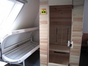 Luxe bungalows met sauna en zonnebank