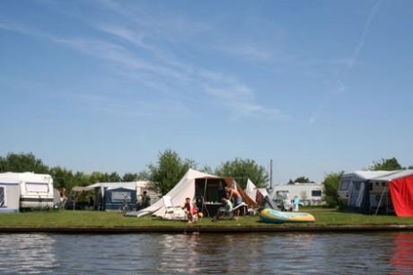 Camping in Friesland op een unieke locatie