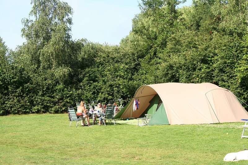 Standaard kampeerplaatsen