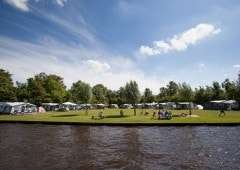 'It Wiid' Campings in Friesland aan het water