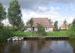 Vakantiehuis 4 personen in het hart van Friesland