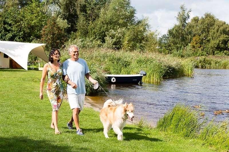 Kamperen zomervakantie Friesland