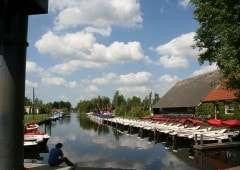 Camping It Wiid met haven in Friesland