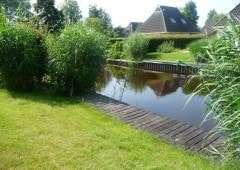 Aan het water in Friesland