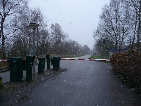 Winterweer op vakantiepark It Wiid