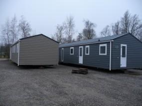 De eerste chalets zijn gearriveerd! Herinrichting Camping It Wiid  Friesland