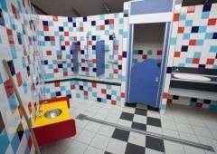 Camping met sanitair voor kinderen