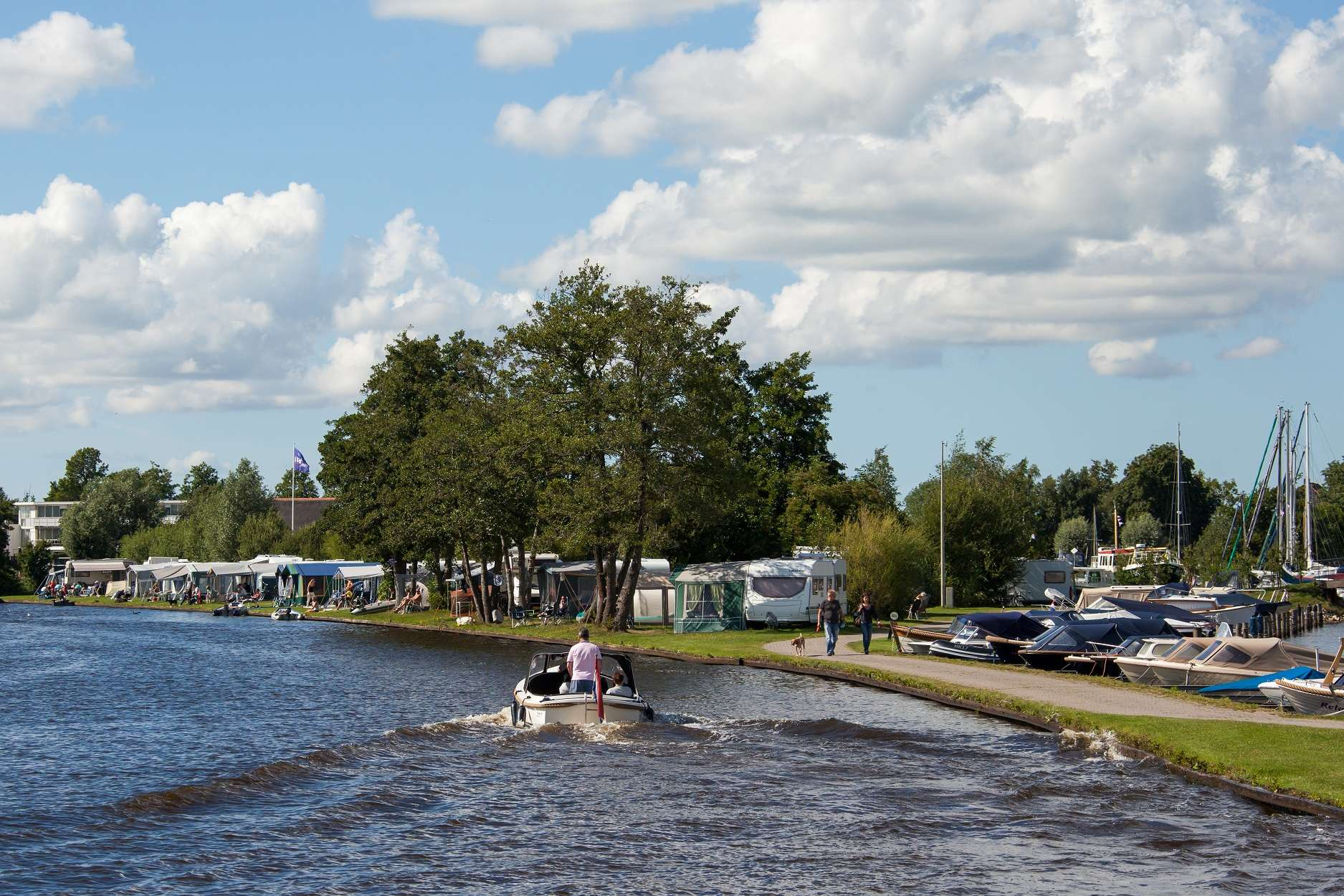 Campings Friesland - Camping It Wiid aan het water