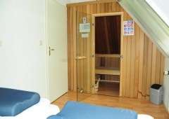 Finse sauna in bungalow