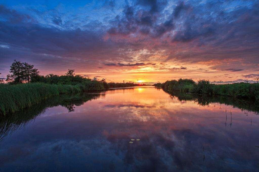 Nationaal park de Alde Feanen in Friesland