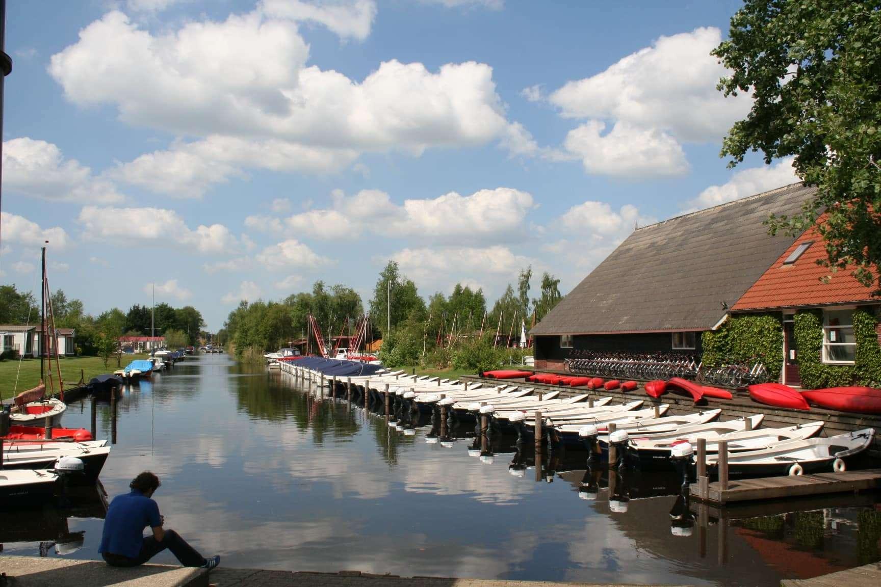 Bootverhuur op de camping in Eernewoude