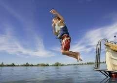 Camping Pinksteren: lekker zwemmen