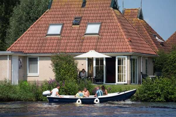 Wetter vakantiehuis