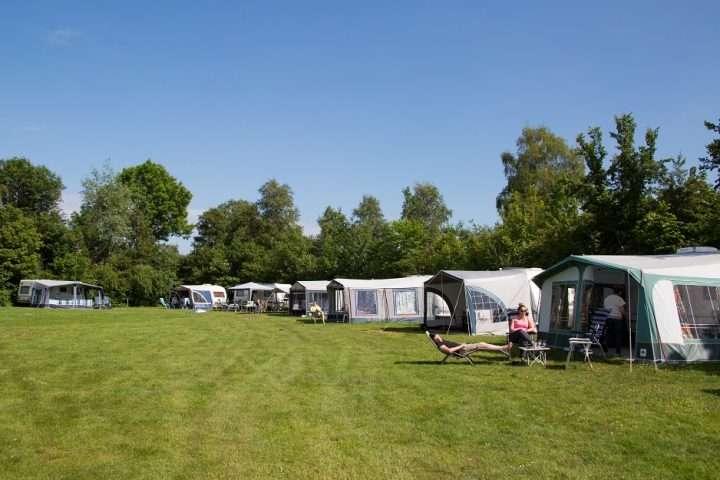 standaard kampeerplaats